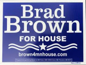 CD6 Lawn Sign